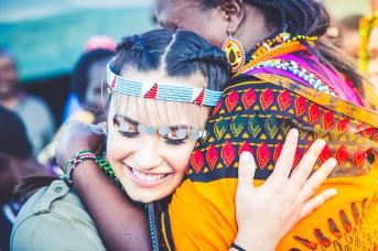 Demi Lovato in Kenya by Ryan Bolton