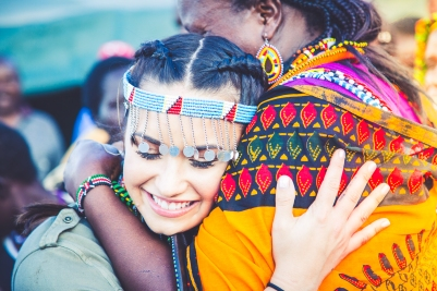 Demi Lovato in Kenya by Ryan Bolton