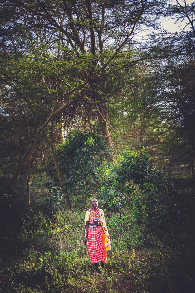 Maasai Mama in Kenya