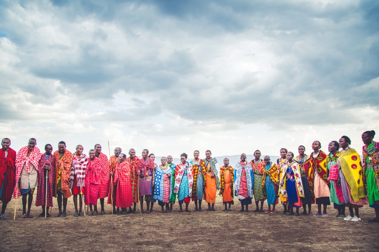 Maasai Celebration in Kenya
