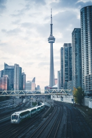Toronto CityPlace Photo from Bathurst Bridge