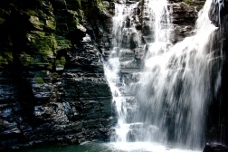 waterfall, ecuador, rainforest, beautiful, exotic
