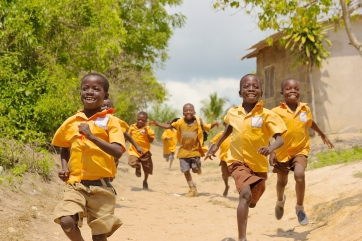 Running in Ghana