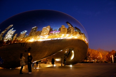 The Bean in Downtown Chicago