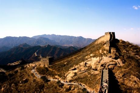 The Great Wall, China, hiking