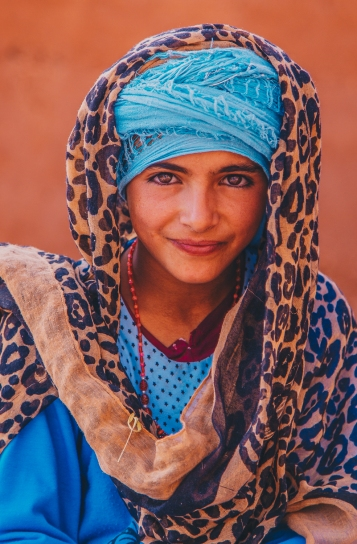 Portrait in Rural Morocco