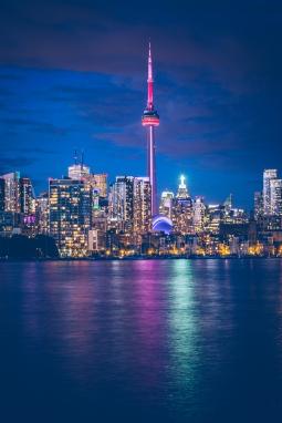Toronto's skyline photo from Trillium Park