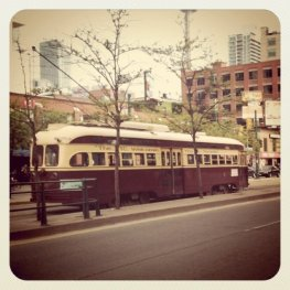 TTC, Toronto, old street car
