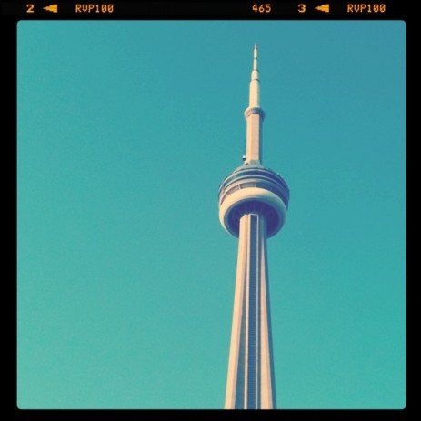 CN Tower. The cool shot.