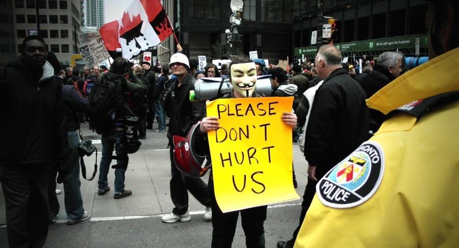 Occupy Toronto Police
