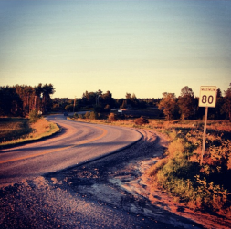 The Curved Road
