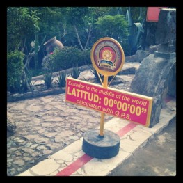The Equator!
