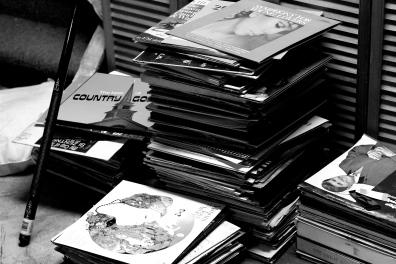 The classic vinyl.
