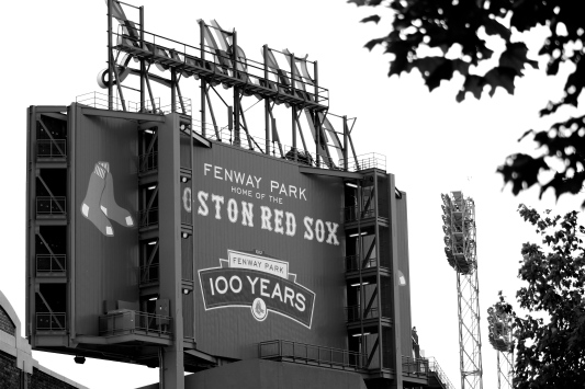 Fenway Park, Boston, History