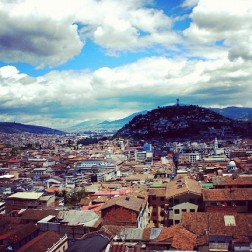 Above Ecuador