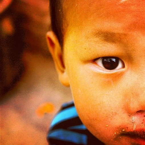 Boy in China