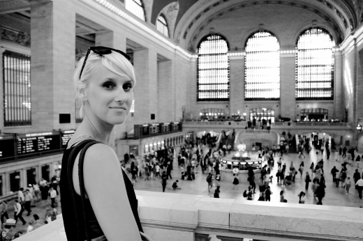 Kate in Grand Central