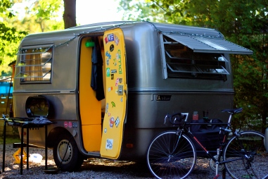 The '70s Camper and Bianchi