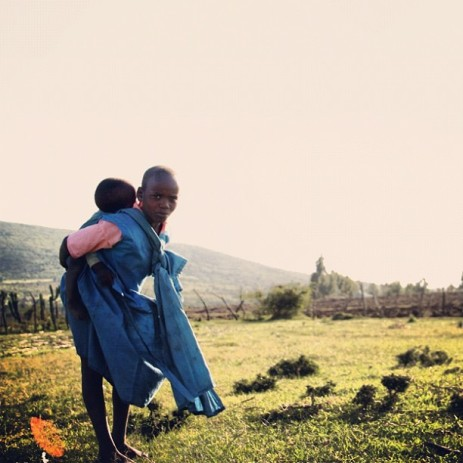 Sisters in Kenya