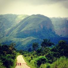 Border of Ghana and Togo.
