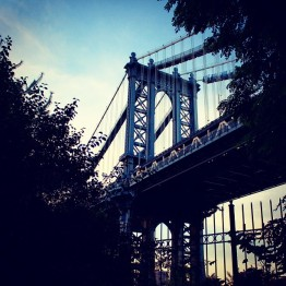 Brooklyn Bridge from Dumbo