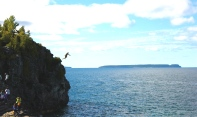 Cliff Jumping, Naturally