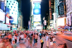 Times Square in the Summer I