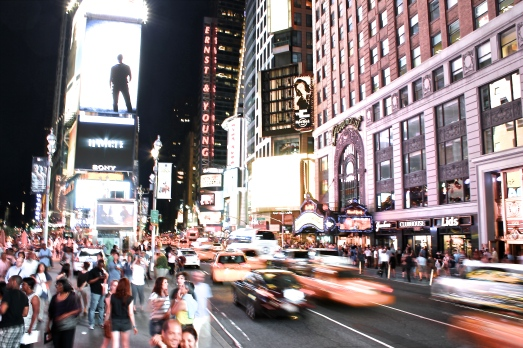 Times Square in the Summer II