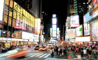 Standstill at Times Square, NYC