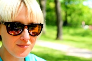Katie in High Park