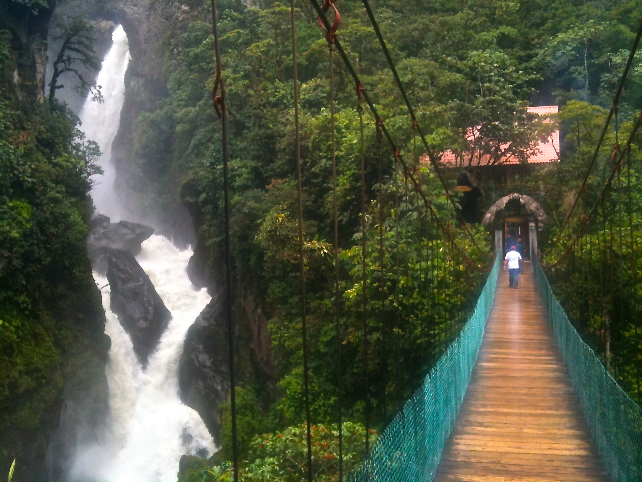 Waterfall in Banos, Ecuador – Ryan Bolton