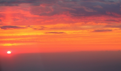 Sunset above Montreal