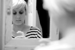Katie in the Mirror