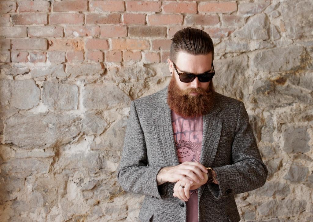 Ryan Bolton with a Beard