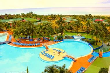 Birdseye view of Resortland.