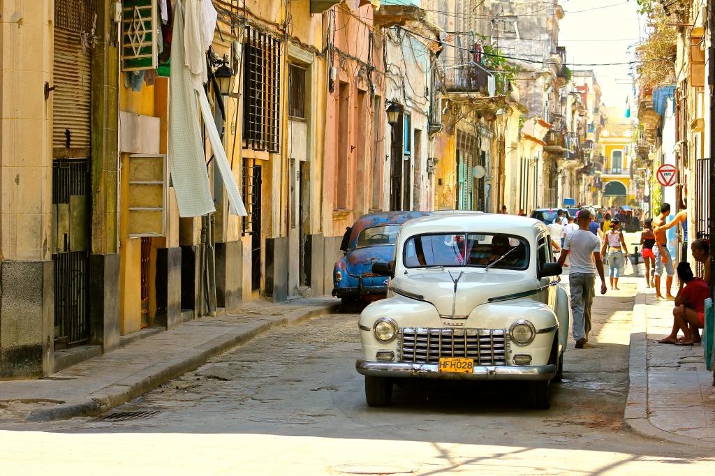 Shot in Cuba. Naturally.