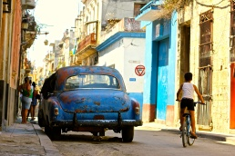 Exploring the streets of Havana, Cuba