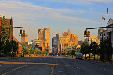 Downtown Detroit 1