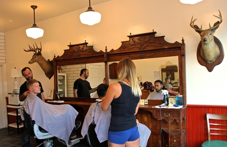 Hastings Barber Shop 8