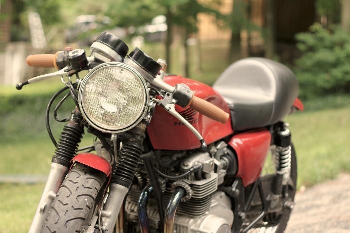 Josh's Motorcycle (Photo by Ryan Bolton)