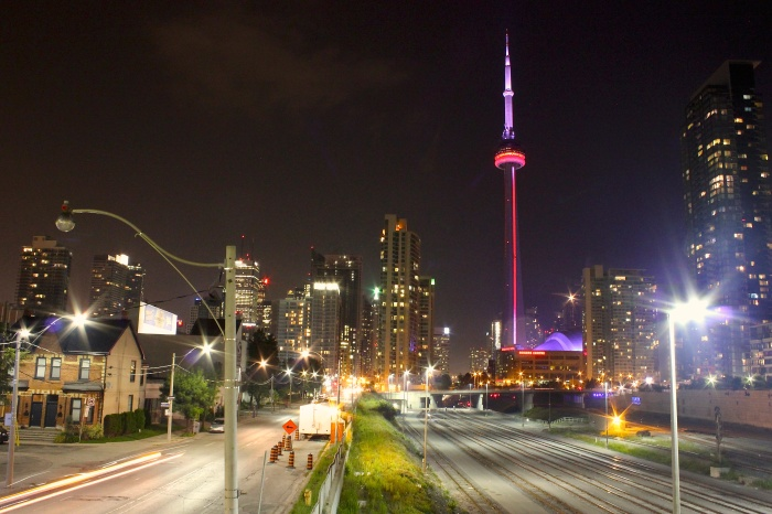 Toronto at Night (Photo by Ryan Bolton)