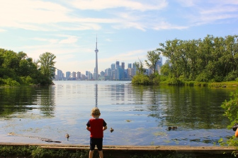 Boy and the Tower (Photo by Ryan Bolton)