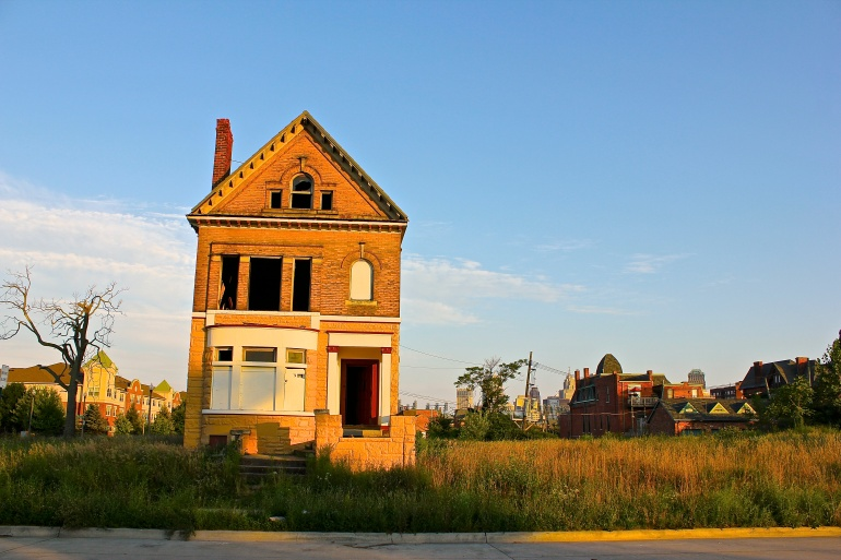 The Lost Streets of Detroit (Photo by Ryan Bolton)