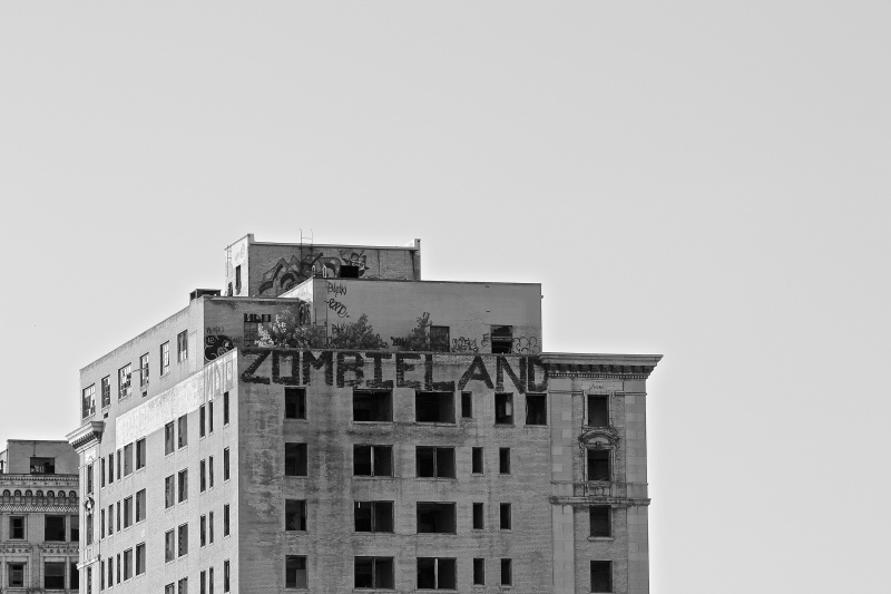 Zombieland, Detroit (Photo by Ryan Bolton)