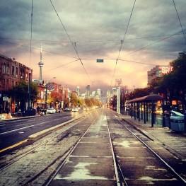 Toronto in a Rainstorm