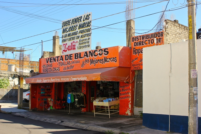 Storefront in Colima