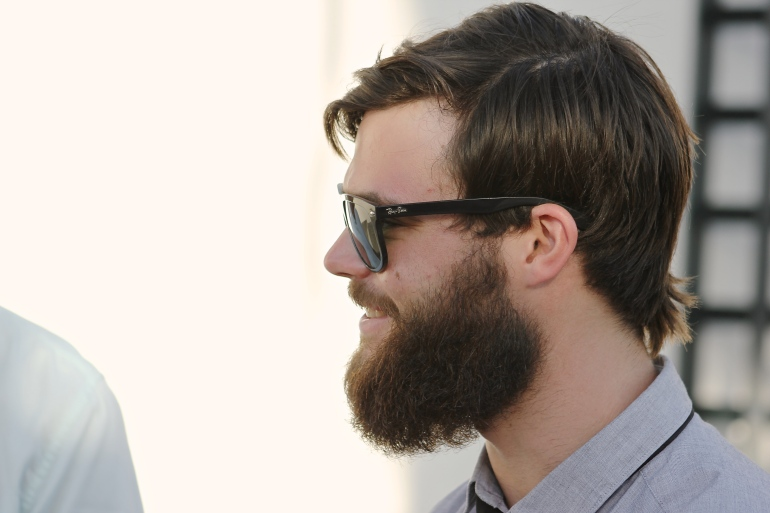 Hank and his beard