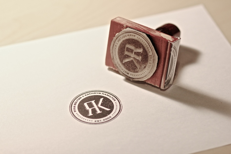 Our Wedding Stamp