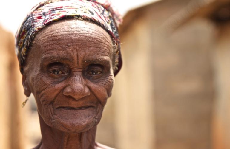Elder in Ghana