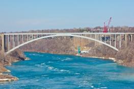 The Peace Bridge to the US